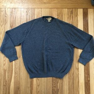 Vintage Silk and Cashmere Men's Pullover Sweater